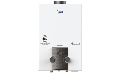 Jyoti Diamond Gas Geyser 6 Ltr