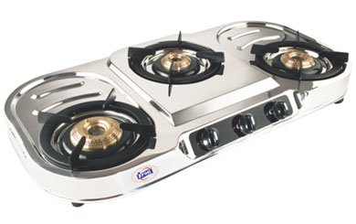 MODEL 302 + Gas Stove